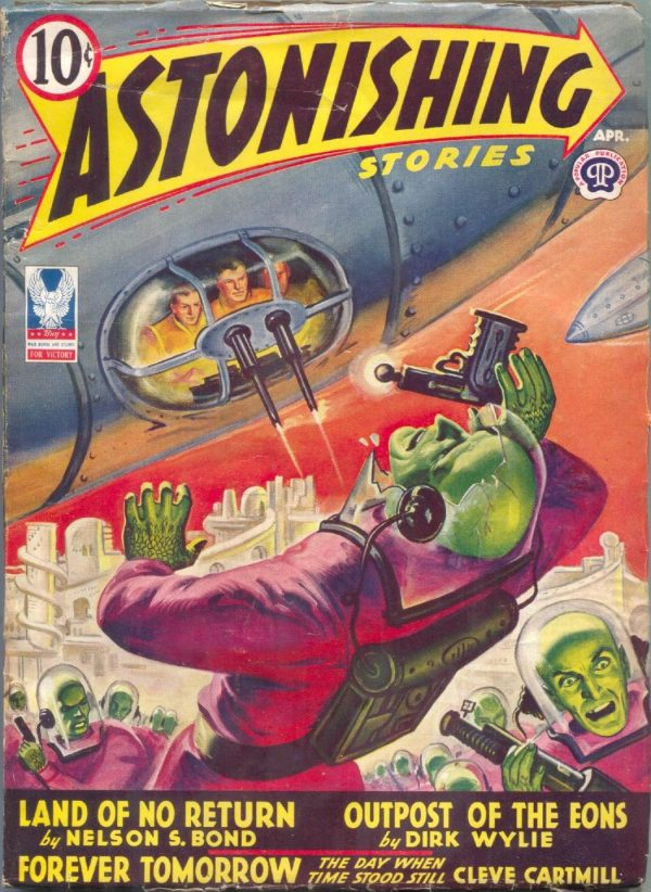 Astonishing Stories, April 1943