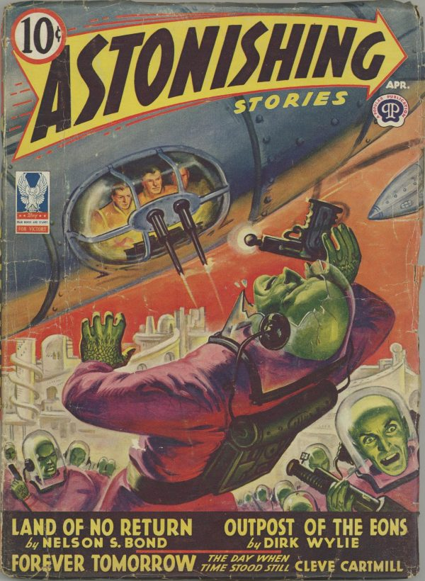 Astonishing Stories Magazine April 1943