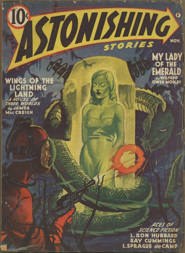 Astonishing Stories Magazine November 1941