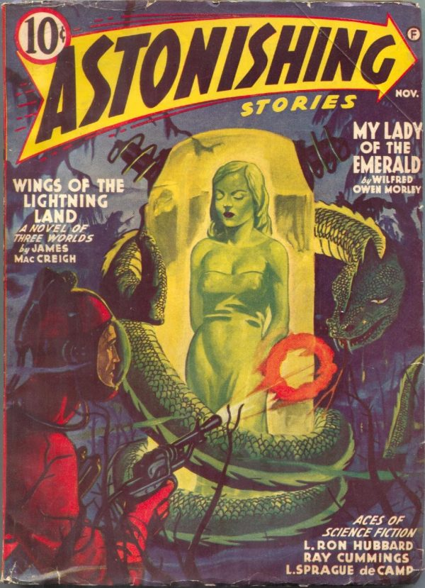 Astonishing Stories November 1941