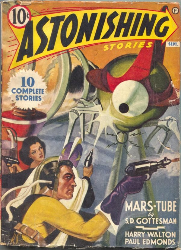 Astonishing Stories September 1941
