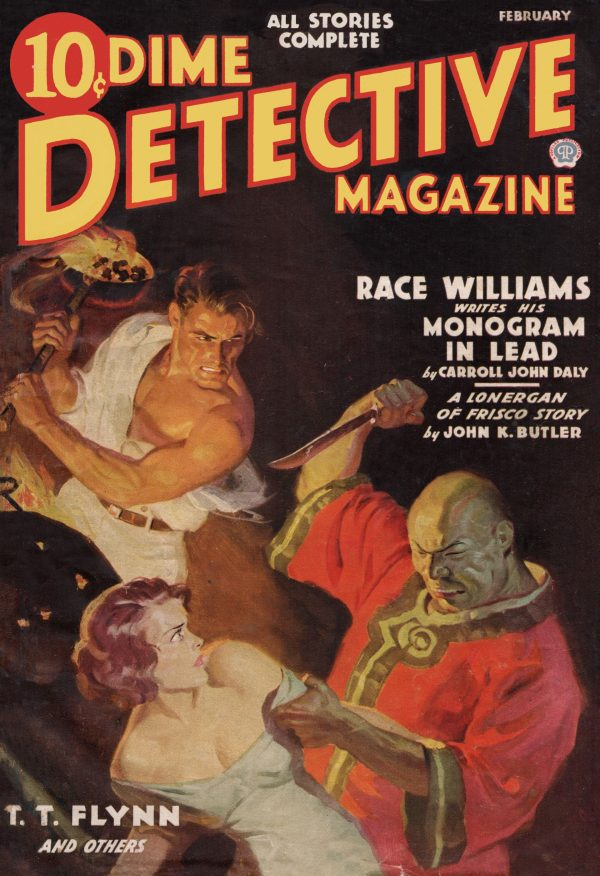 Dime Detective February 1937
