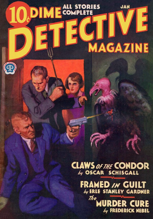 Dime Detective January 1933