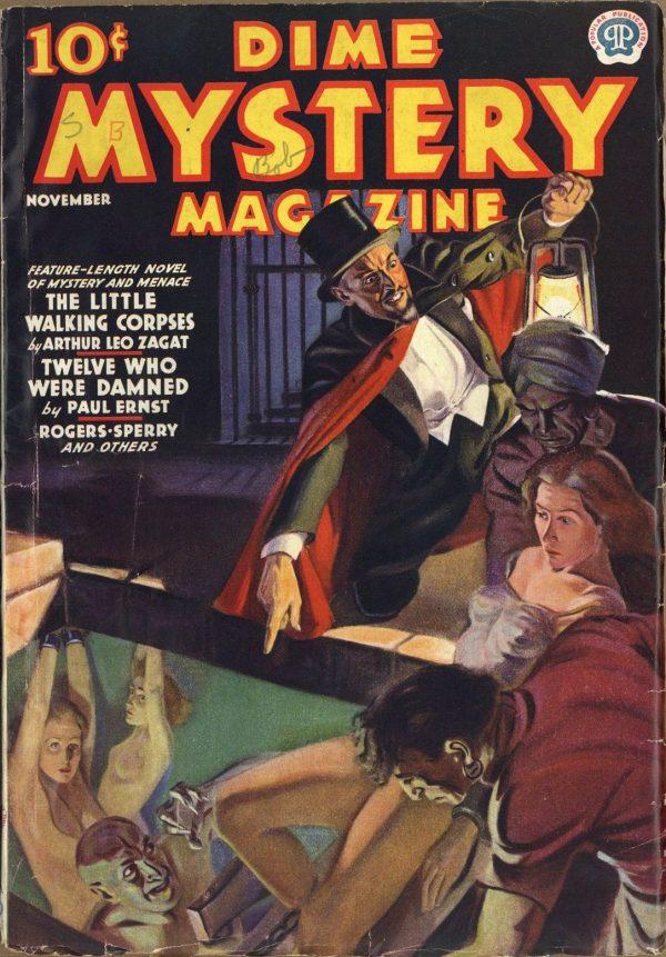 Dime Mystery Magazine November 1937