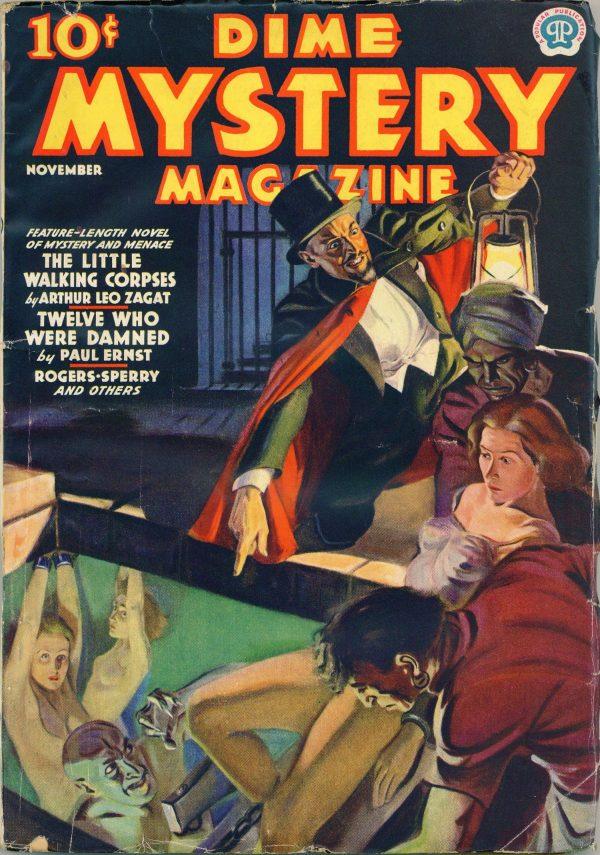 Dime Mystery November 1937