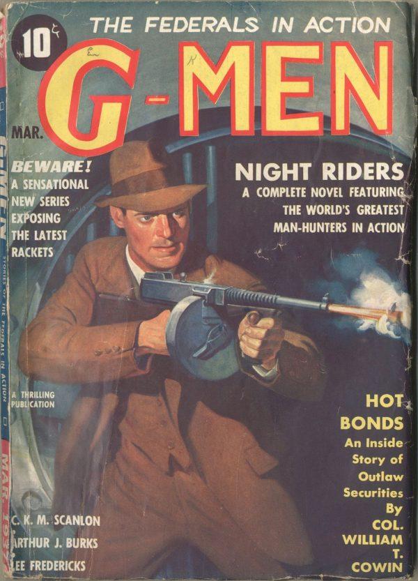 G-Men Detective March 1937'