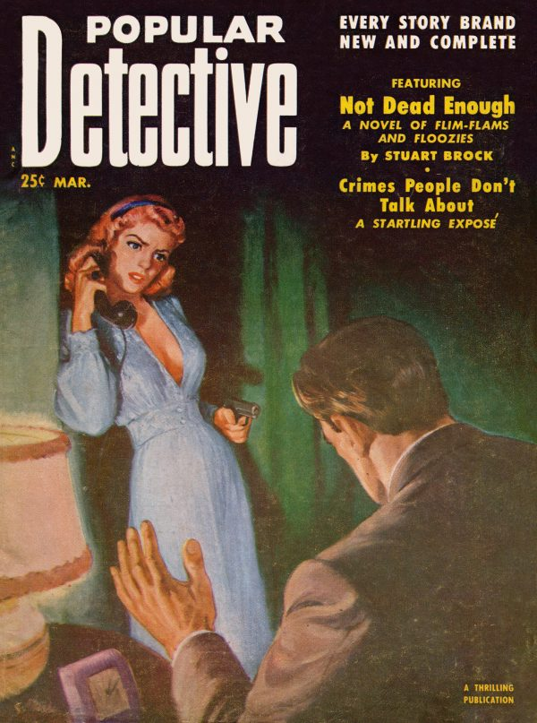 Popular Detective March 1952
