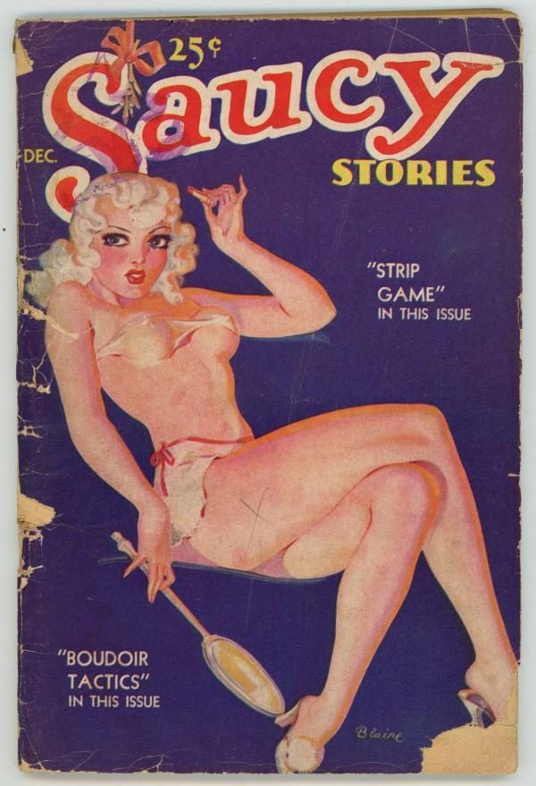 Saucy Stories Digest Dec 1935