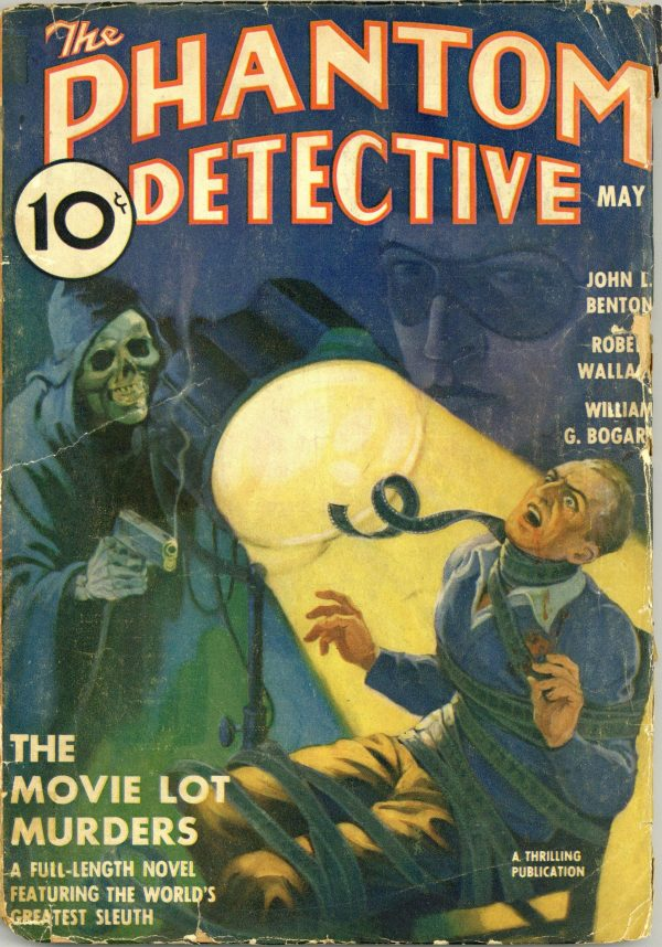 The Phantom Detective May 1938