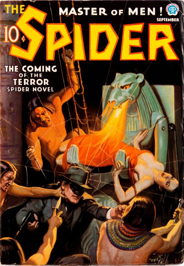The Spider - September 1936