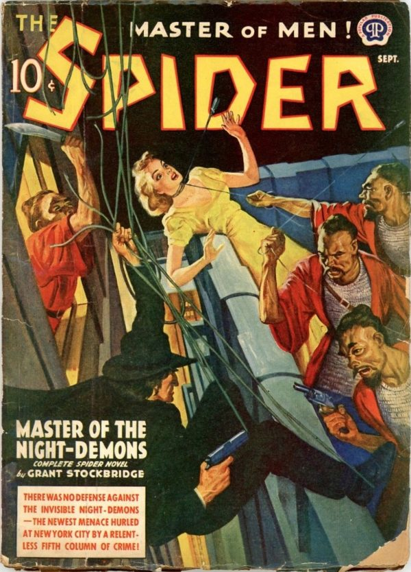 The Spider, September 1940