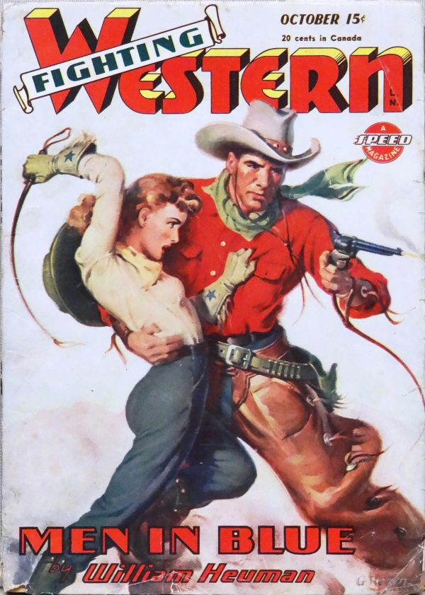 Fighting Western Vol. 1, No. 4 (October 1945). Cover Art by George Rozen