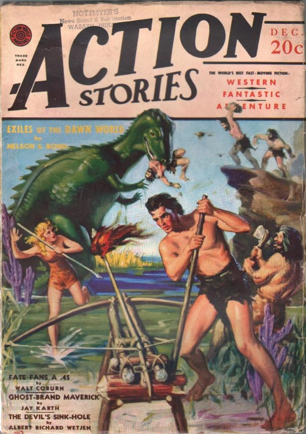 Action Stories December 1940