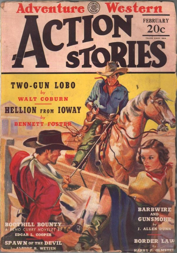 Action Stories February 1939