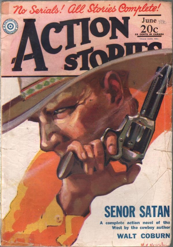 Action Stories June 1930