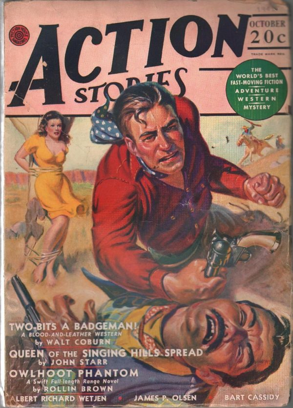 Action Stories October 1941