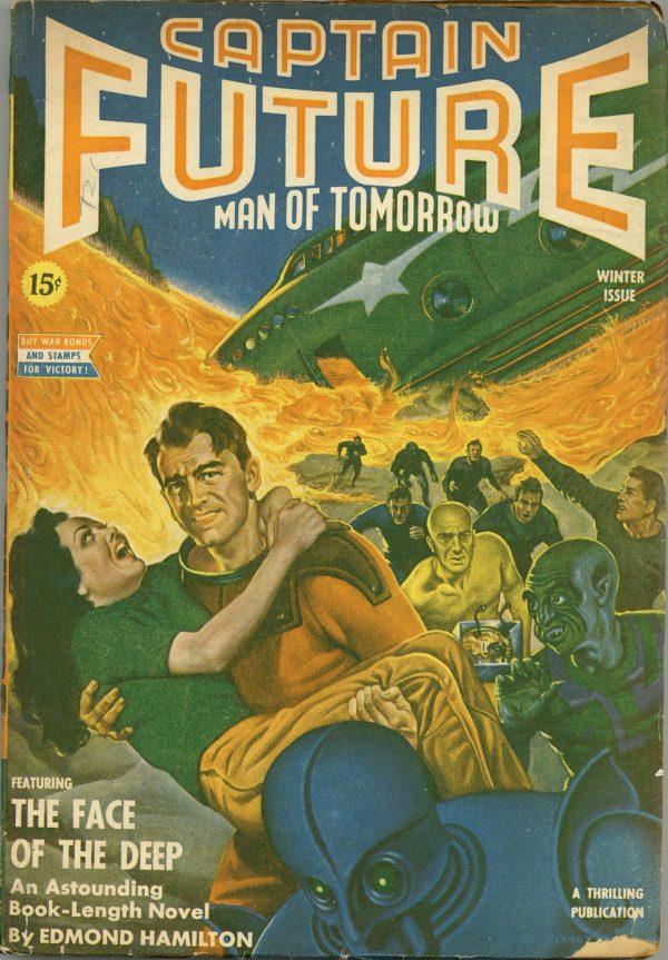 Captain Future Winter 1942