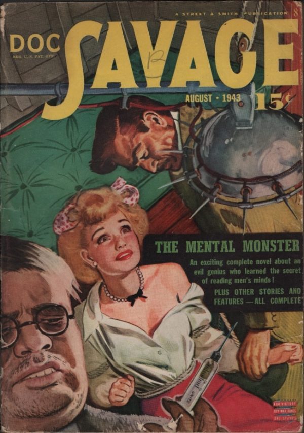 Doc Savage 1943 August
