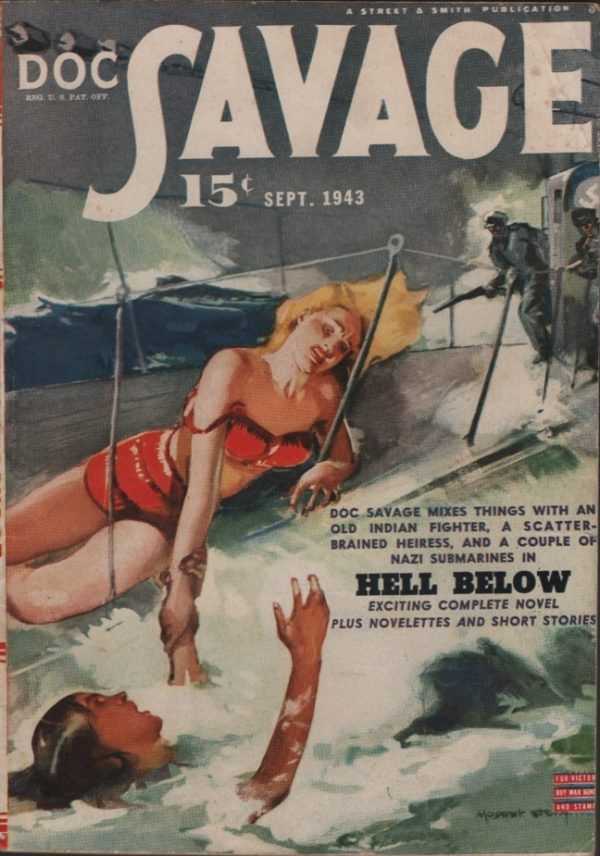 Doc Savage 1943 September