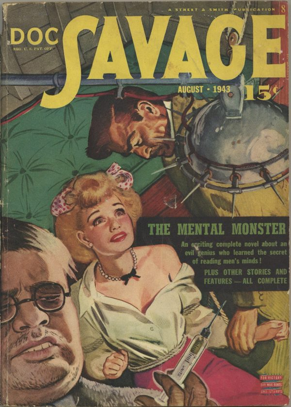 Doc Savage August 1943