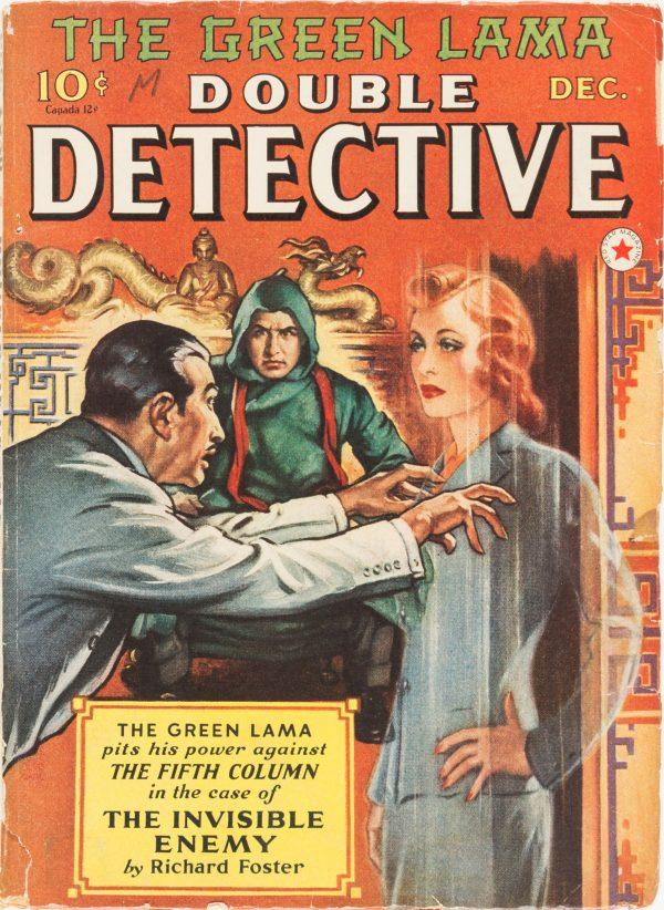 Double Detective Magazine - December 1940