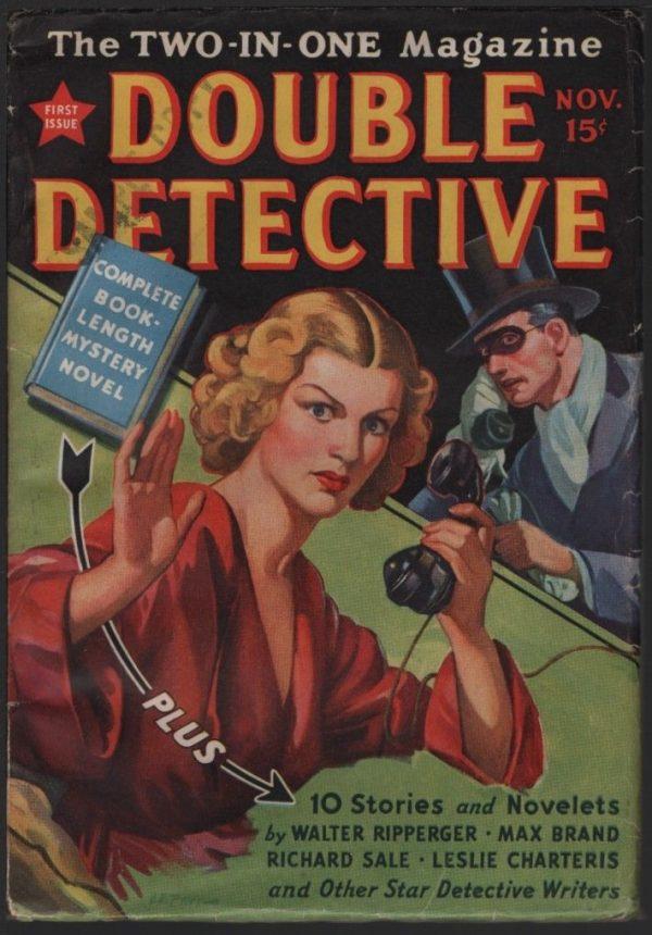 Double Detective v1 #1, November 1937
