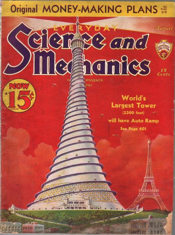 Everyday Science And Mechanics August 1938