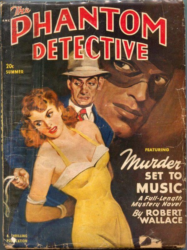 Phantom Detective Summer 1949