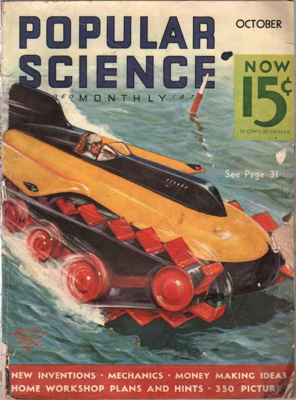 Popular Science Issue October 1935