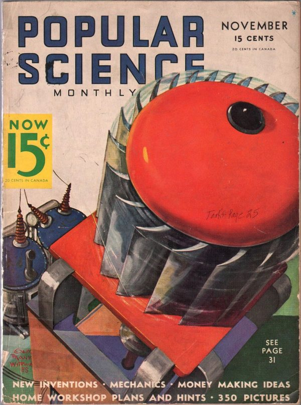 Popular Science November 1935