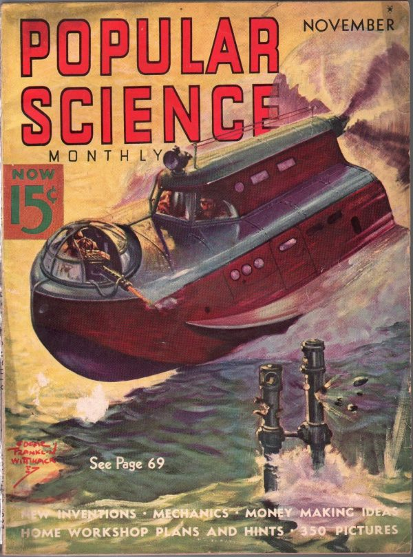 Popular Science November 1937