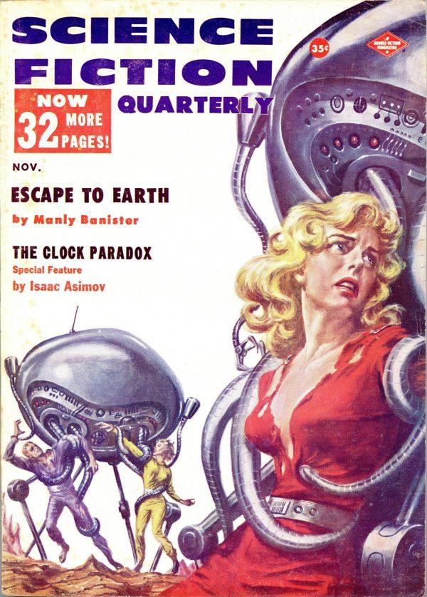 Science Fiction Quarterly November 1957