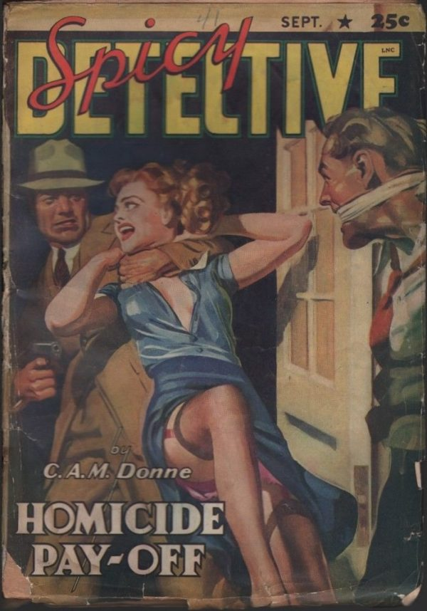 Spicy Detective 1941 September