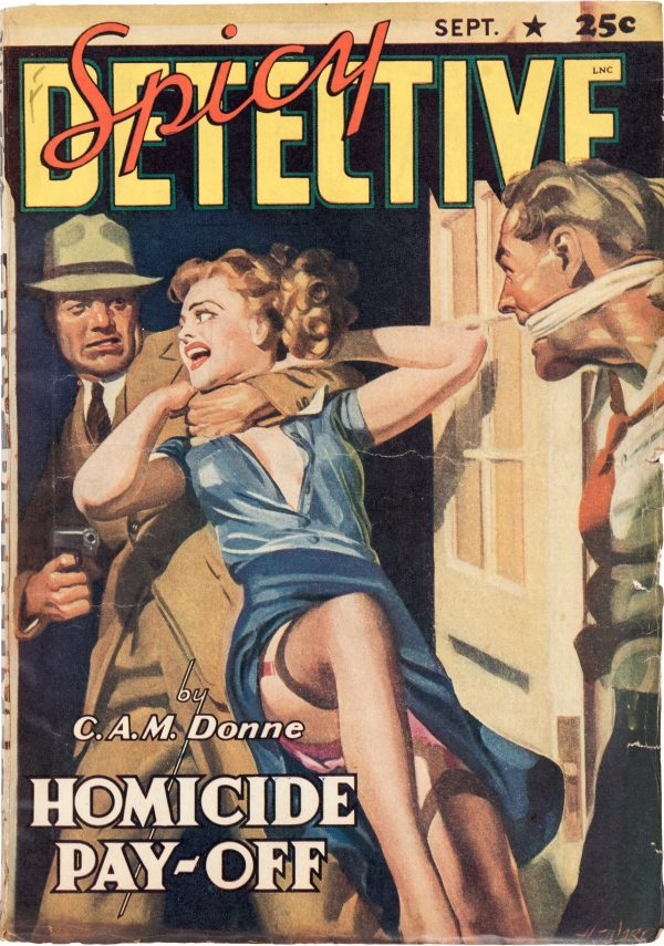 Spicy Detective Stories - September 1941