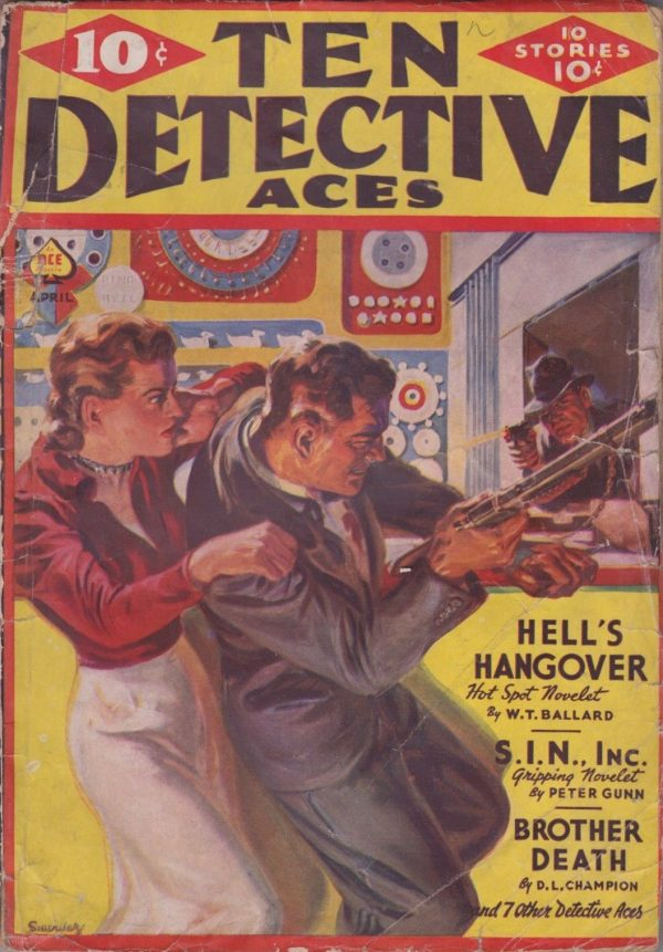 Ten Detective Aces April 1939