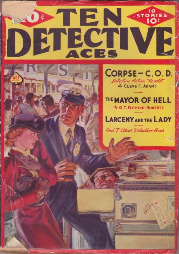 Ten Detective Aces January 1939