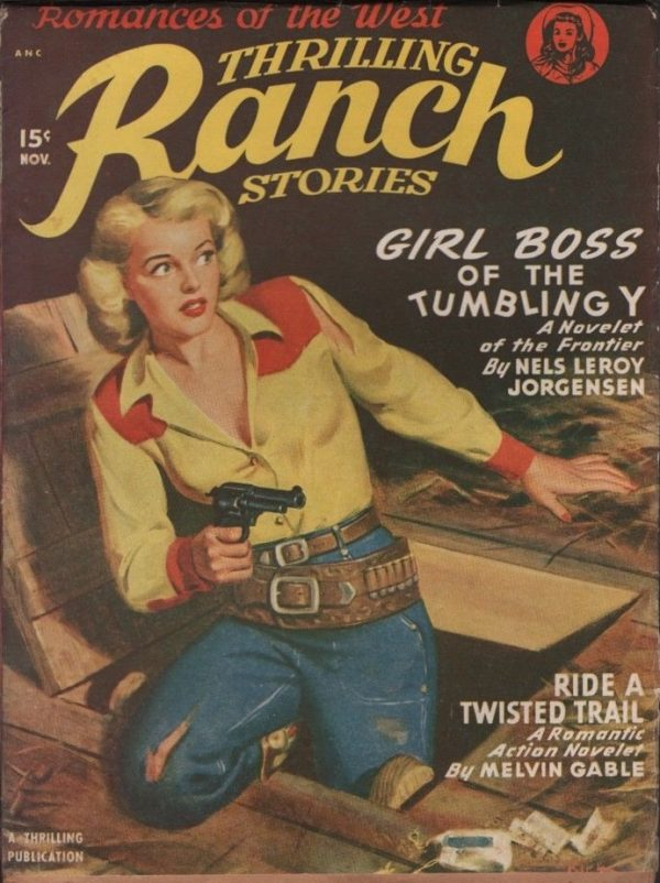 Thrilling Ranch Stories 1949 November