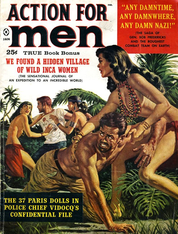 Action For Men January 1960