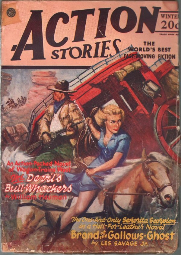 Action Stories Winter 1945