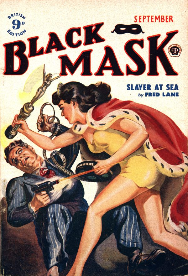 Black Mask (UK) September 1950