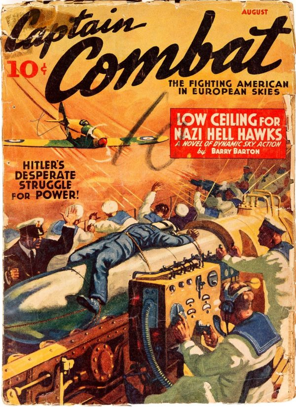 Captain Combat; July 1949