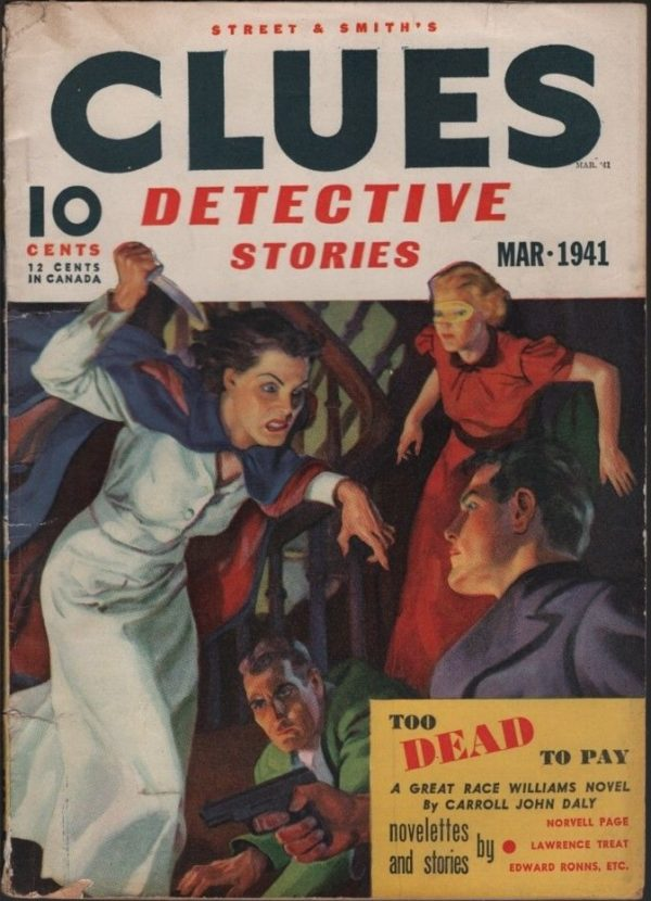 Clues Detective Stories 1941 March