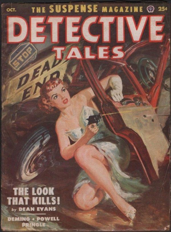 Detective Tales 1952 October