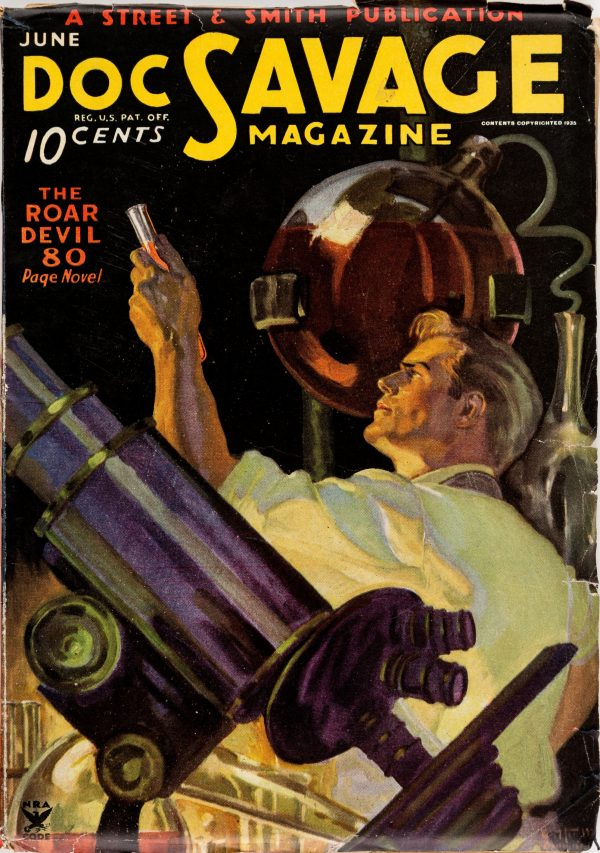 Doc Savage - June 1935