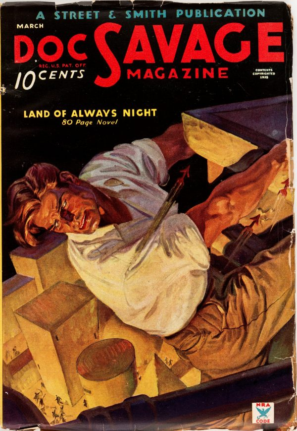 Doc Savage - March 1935