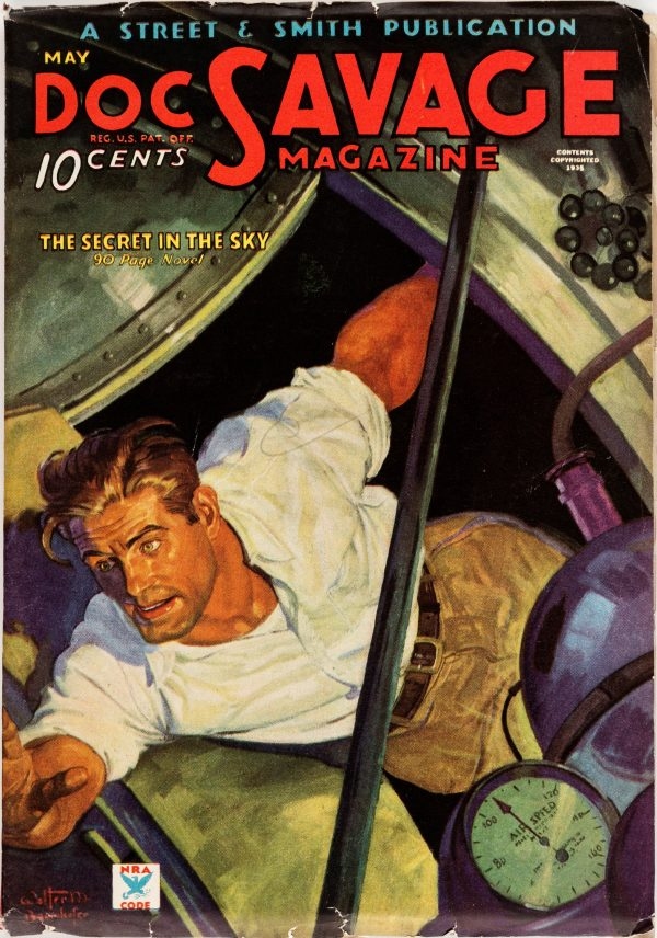 Doc Savage - May 1935