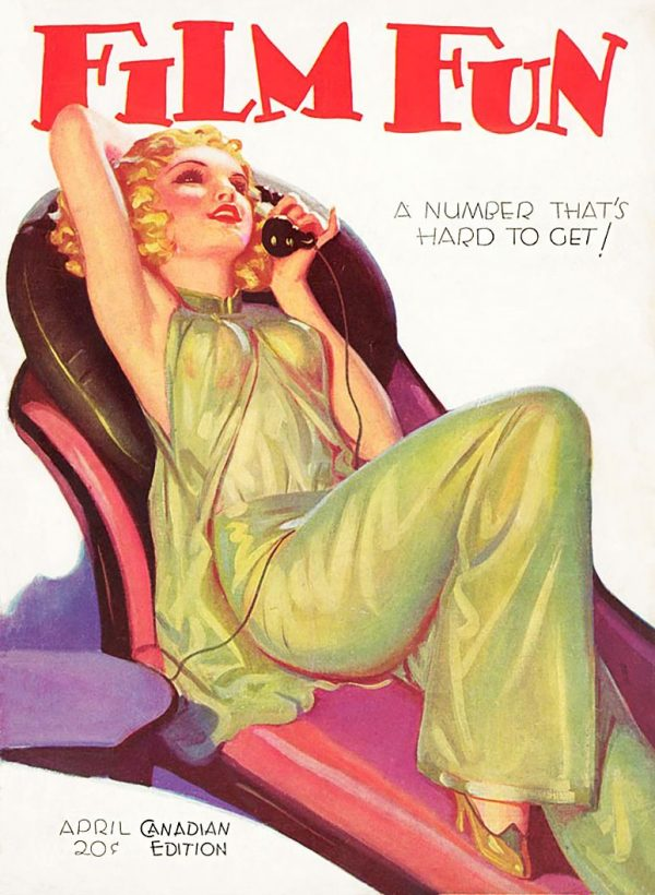 Film Fun, Canadian April 1932
