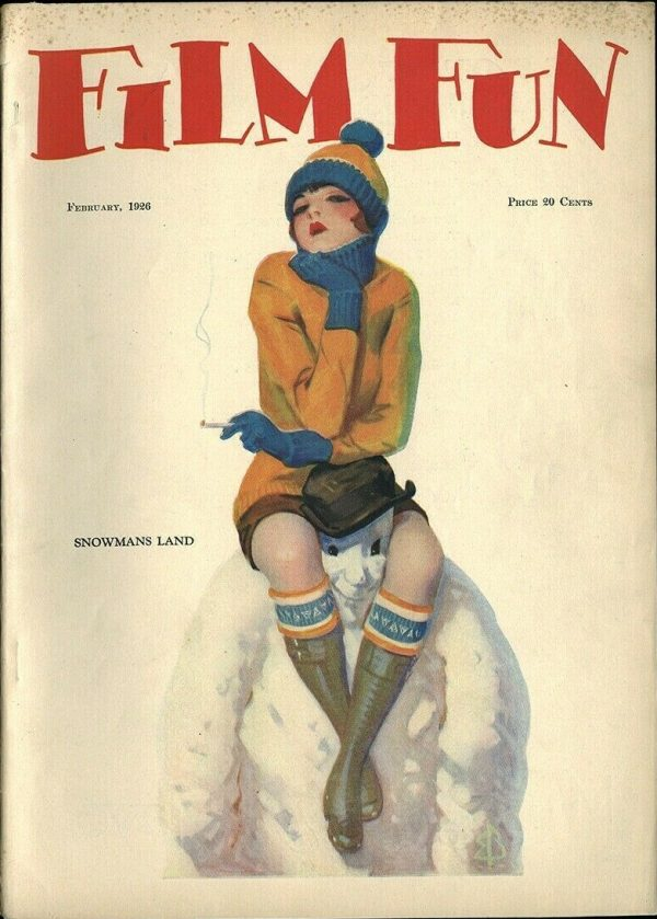 Film Fun Magazine February 1926