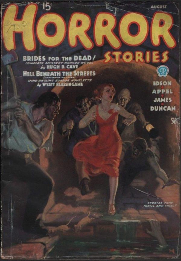 Horror Stories 1935 August