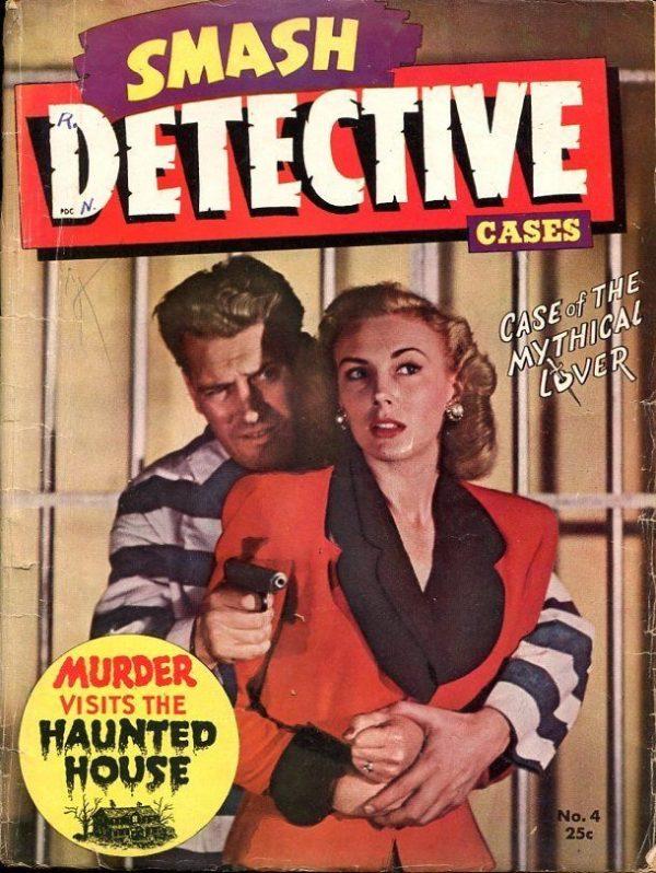 Smash Detective Cases December 1945